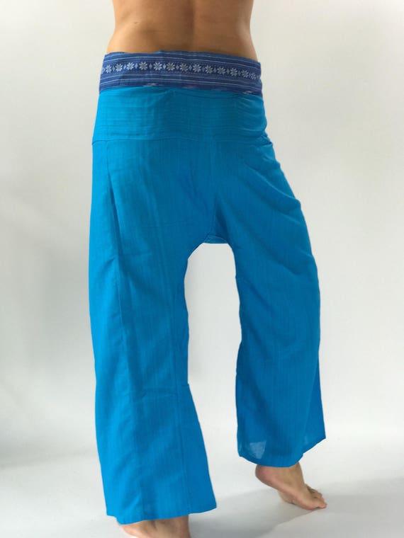 Pantalon de pêcheur TCP0014 pantalon thaï yoga pantalons mode hommes pour  tous 46c0b856c5d1