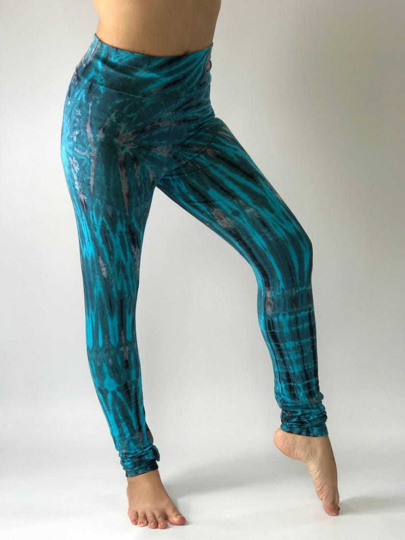 a707dda1bc6d2 TD0034 Women's Tie Dyed Yoga Pants and Leggingsperfect | Etsy