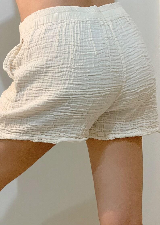 Summer Fashion Chic Clothing CUTE Short Pants SP0199 Cotton Gauze short pants