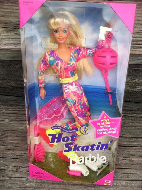 New!! Mattel Ken Barbie Doll Blue High Top Sneakers Monogram K Cute