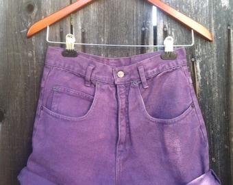 Plum Size 3 High Waisted Shorts