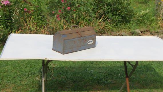 Old Wooden Toolbox Farm Fresh Barn Treasures