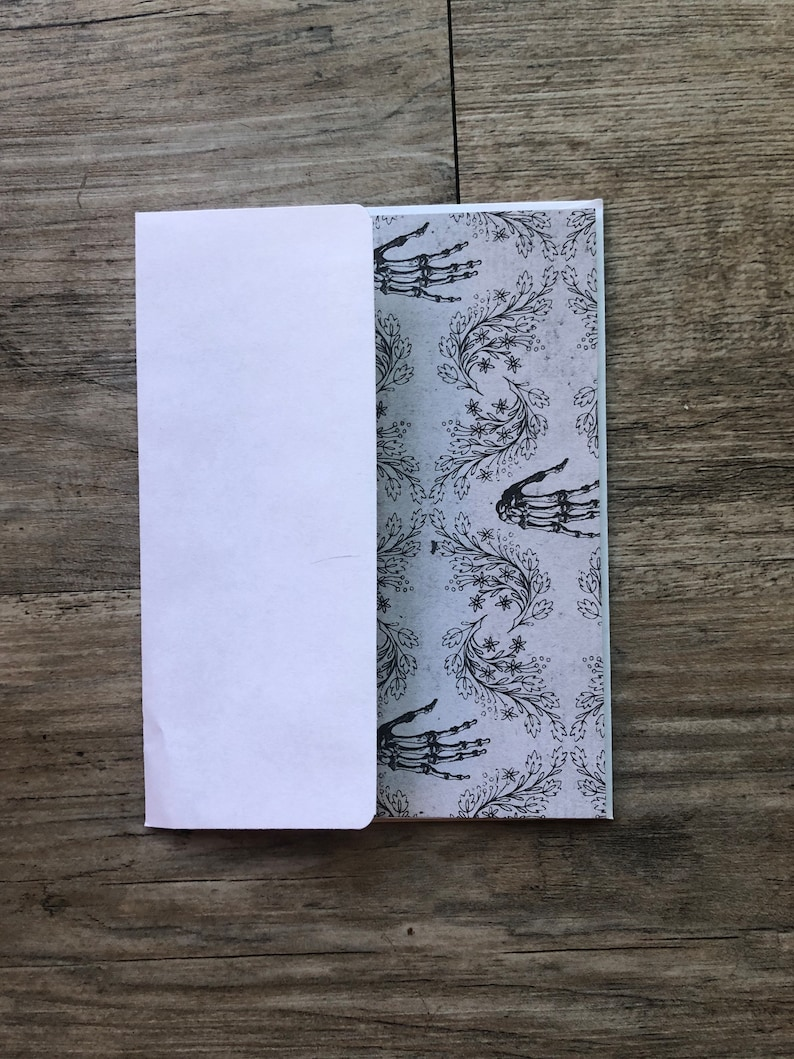 Set of 6 blank greeting cards
