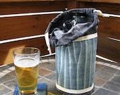 Denim Beer Growler Tote