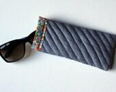 Denim Sunglasses Case Eyeglasses Sleeve