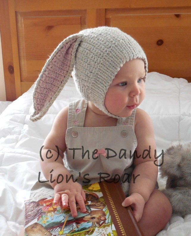 Instant Pdf Download Crochet Pattern For The Brer Bunny Etsy