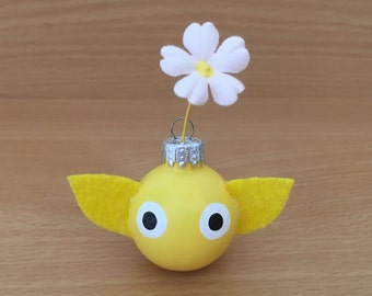 1.5 Inch Flower Small Ornament