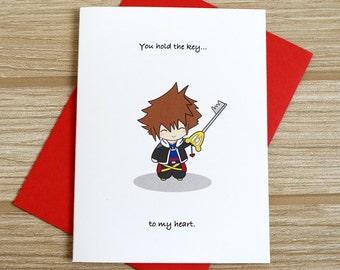 Key To My Heart Love Card