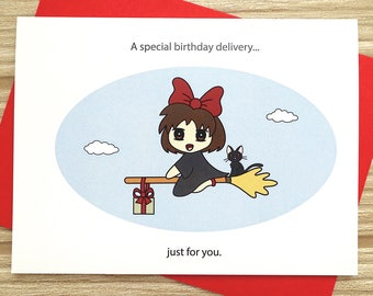 Special Delivery Birthday Card