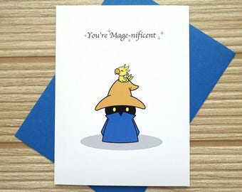 You're Mage-nificent Card