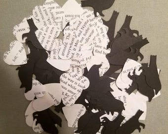 Game Of Thrones Book Page Crow Confetti
