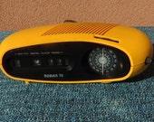 Roman 76 Korean SPACE AGE JAM flip clock radio alarm 1970s