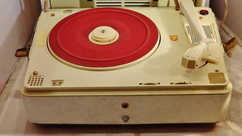 Philips Dutch VINTAGE BLUES record player 1950