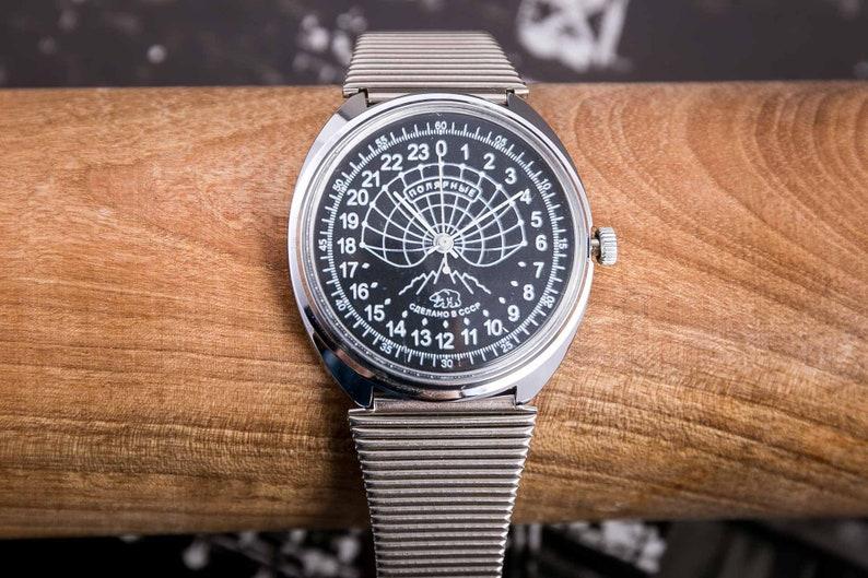 0078184f952 Raketa Russian 24 hours mechanical watch wind up watch