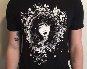 Kate Bush Hand Screen-Printed T-shirt