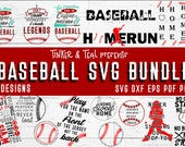 Baseball SVG Bundle