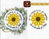 Flowers of Tomorrow Come From Seeds of Today Farmhouse Summer SVG DXF Cut File