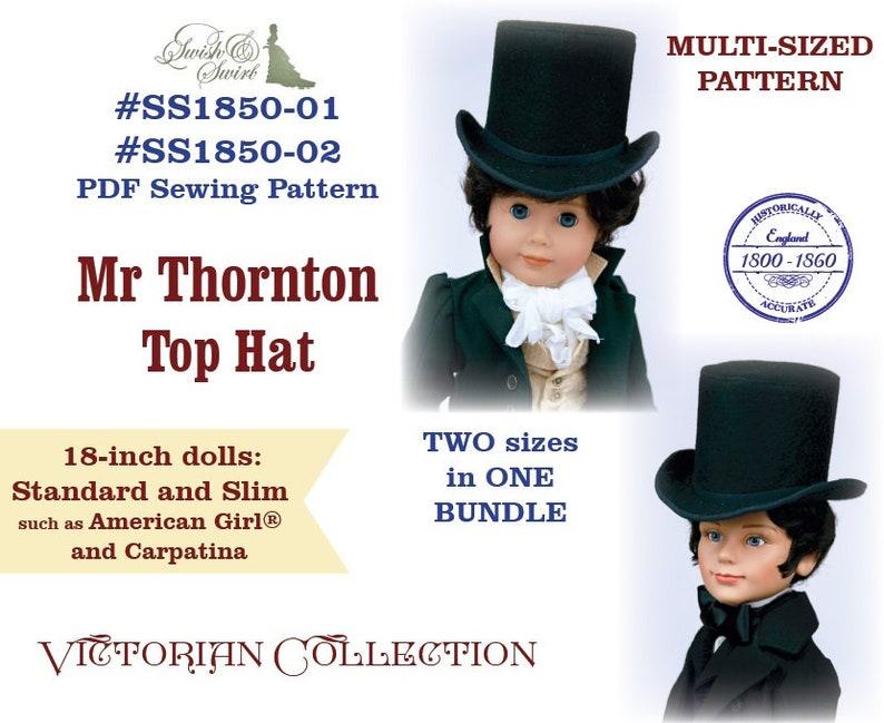 PDF Pattern Bundle SS1850-01 & SS1850-02. Mr Thornton Top image 0