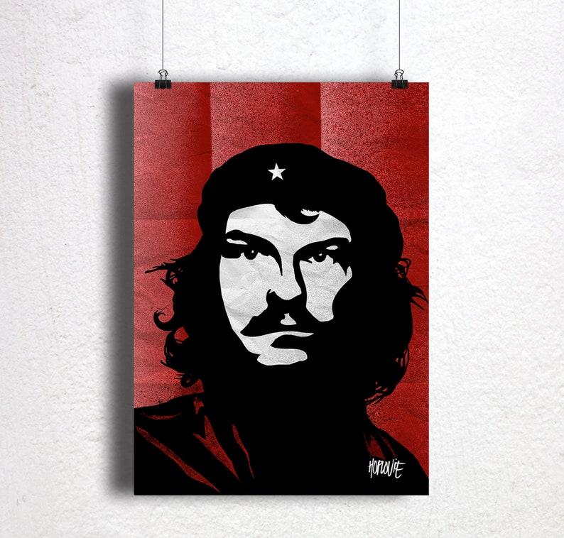 Chrille Guevara A3 print image 0