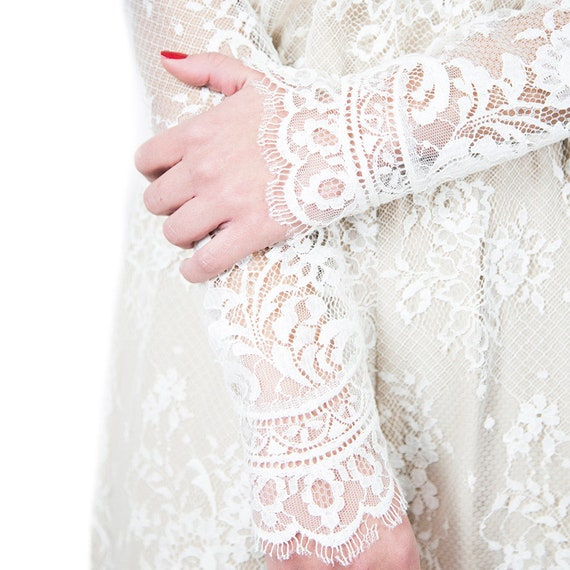 Ivory Lace Playsuit