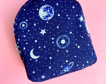 Space backpack for 18 inch dolls such as American Girl and Our Generation