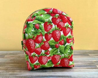Strawberry backpack for 18 inch dolls