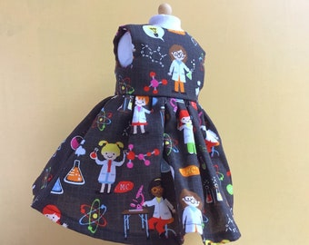 Science Girl dress for 18 inch dolls