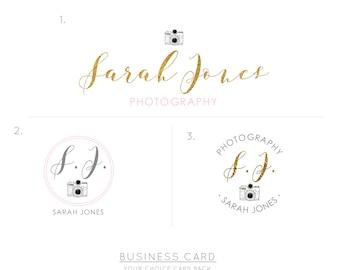 Custom logo design and business card, Logo design branding, Logo Template, Photography logo, Business logo design, Premade Logo designer