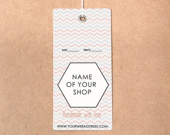 hang tag custom clothing label custom clothing labels price etsy