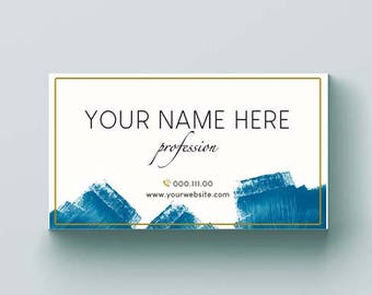 Business card template, Business card design, Custom business cards, Custom business card design, Digital business card, Printable card