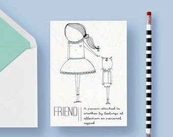Friendship printable postcard , Love gift, Valentines day card, Love postcards, Printable postcard, Friendship gift postcard, Friendships