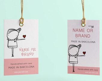 Hang tag custom clothing label, Custom clothing labels, Price tags, Clothing hang tags, Hang tags custom, Clothes tags , Custom clothing tag