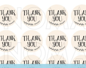 Printable thank you card, instant download greeting cards, Thank you tag, Thank you sticker, Thank you cards wedding, Instant download