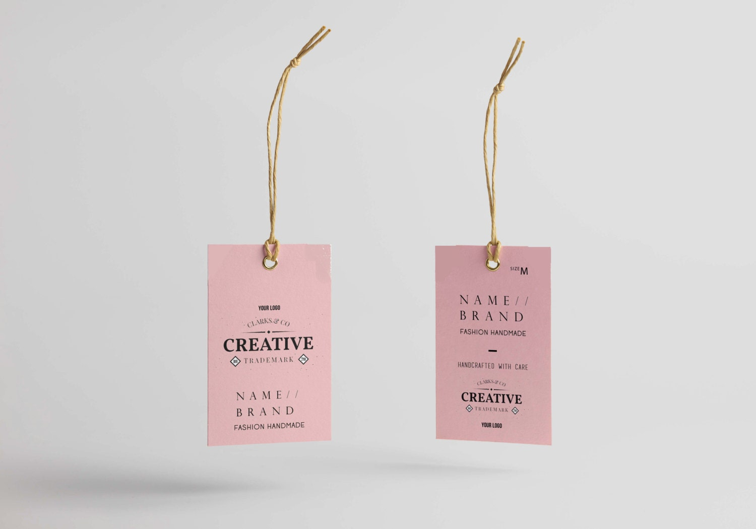 Clothing Tags: Hang Tag Custom Clothing Label Printable Custom Labels For