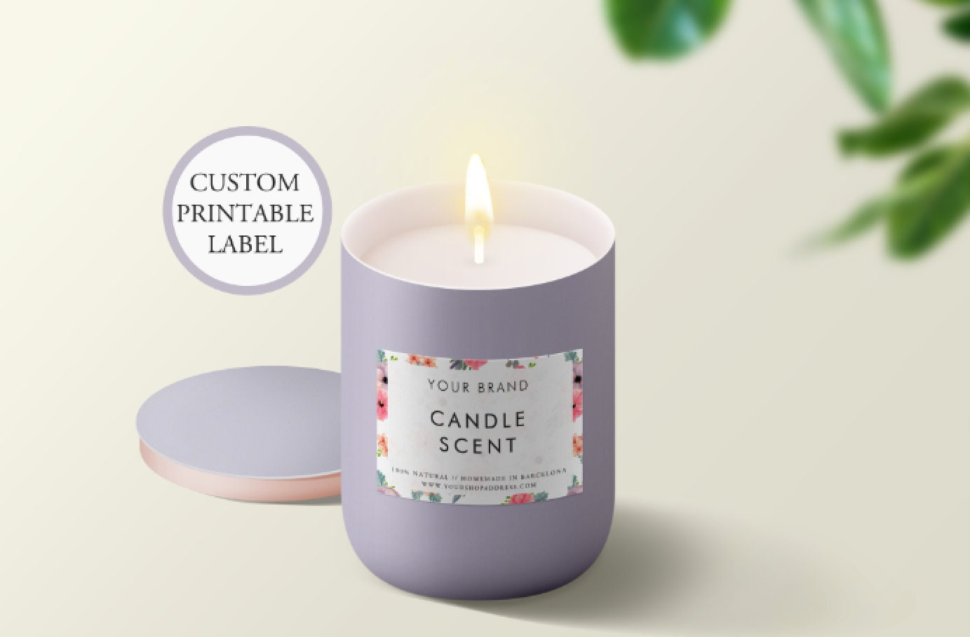 Custom printable candle labels custom candle packaging custom product labels product packaging labels design custom candle sticker
