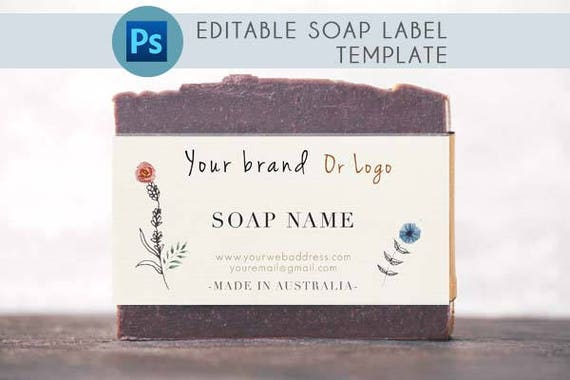 printable soap labels psd custom soap packaging custom soap etsy