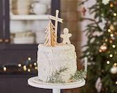 Half Baked Harvest x Etsy Wooden Holiday Cake Topper