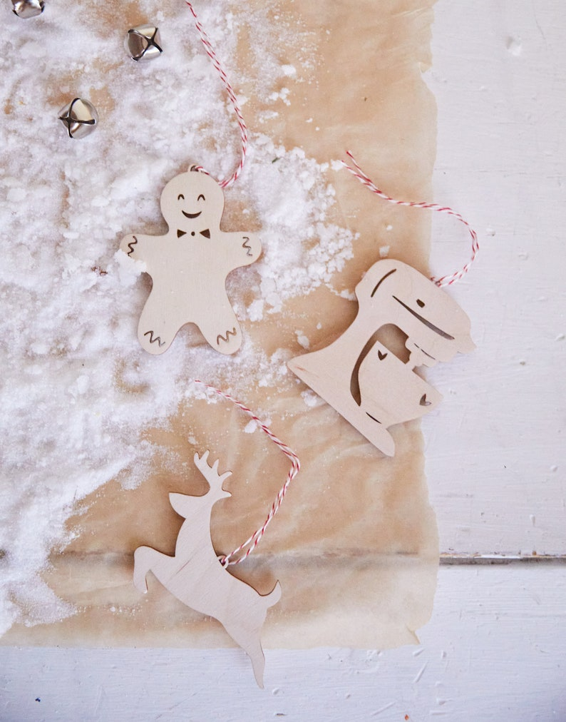 Half Baked Harvest x Etsy Set of 3 Ornaments/Gift Tags image 0