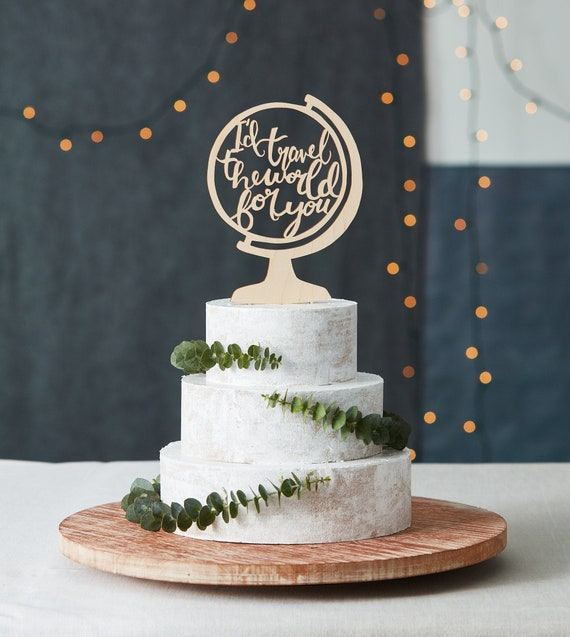 Cake Toppers Destination Cake Topper Wood Cake Topper Rustic Cake Topper State Cake Topper Personalized Cake Topper Wedding Cake Topper
