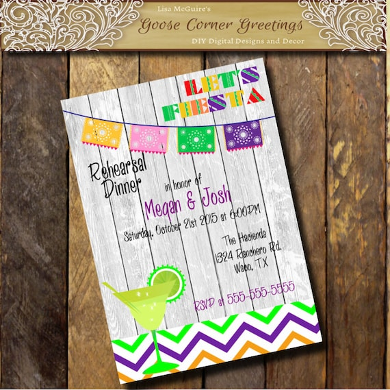 Uno Papel Picado Invitacion Fiesta 1st Birthday Party Invitation