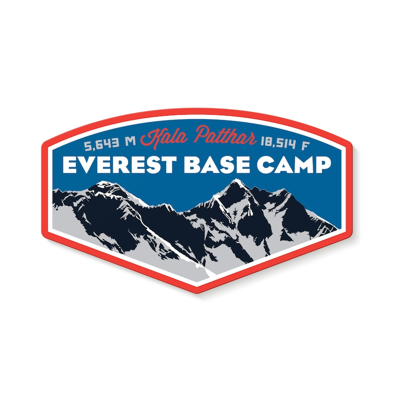 Everest Base Camp Decal Sticker image 1
