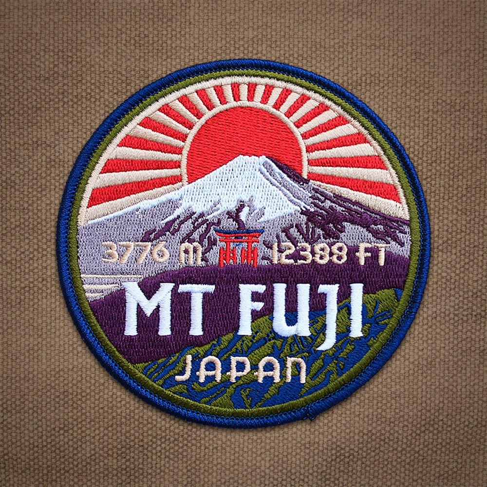 Mt Fuji Patch Etsy Mount Shizuoka Tourist Pass Mini 3 Days 50