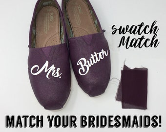 f31afe02ffb6 SWATCH MATCH Wedding Colors Toms. Wedding Color Toms. Wedding Vans  Bridesmaids Toms. Bridesmaids Vans. Custom Toms Bridal Flats