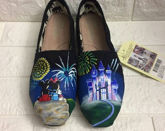 d465ae9a96b Mickey   Minnie Fireworks Shoes. Mickey and Minnie Toms. Fireworks Toms.  Disney Fireworks Mickey Shoes. Minnie Toms Wedding Toms