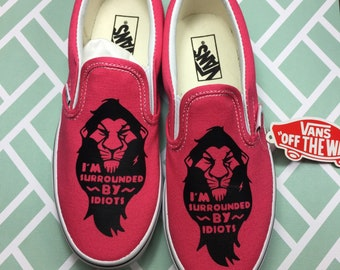 3951e0bbbb Lion King VANS. Lion King Shoes. Hakuna Matata Toms. Simba Toms. Can be  made into Lion King Converse.