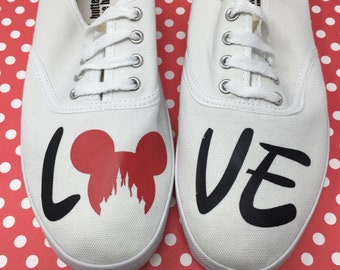 35333519a4 Disney Inspired Shoes. Disney Vacation Shoes. Disney World Shoes. Disneyland  shoes