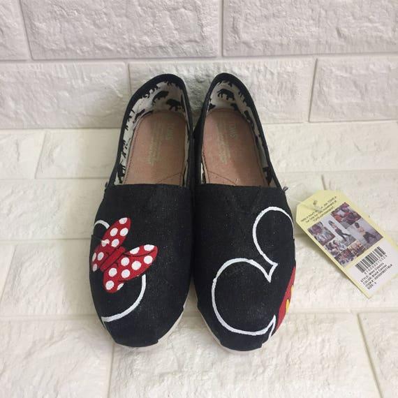 Glitzer Minnie Maus Disney Mickey Mouse Schuhe Disney World Etsy