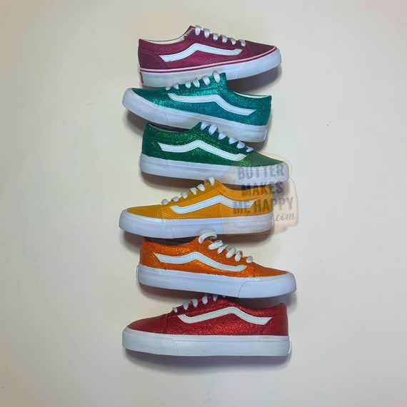 PICK YOUR COLOR Old Skool Vans. Many Colors To Choose From ...