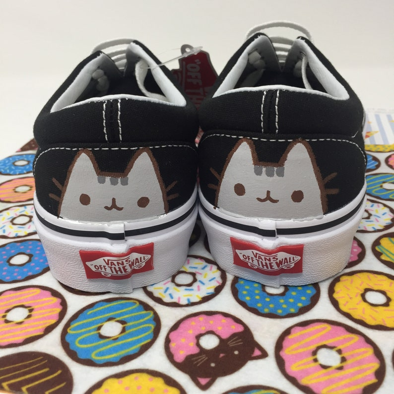 b0cfbd558a7edc Pusheen The Cat. PICK YOUR PUSHEEN. Cat Shoes. Pusheen Vans.
