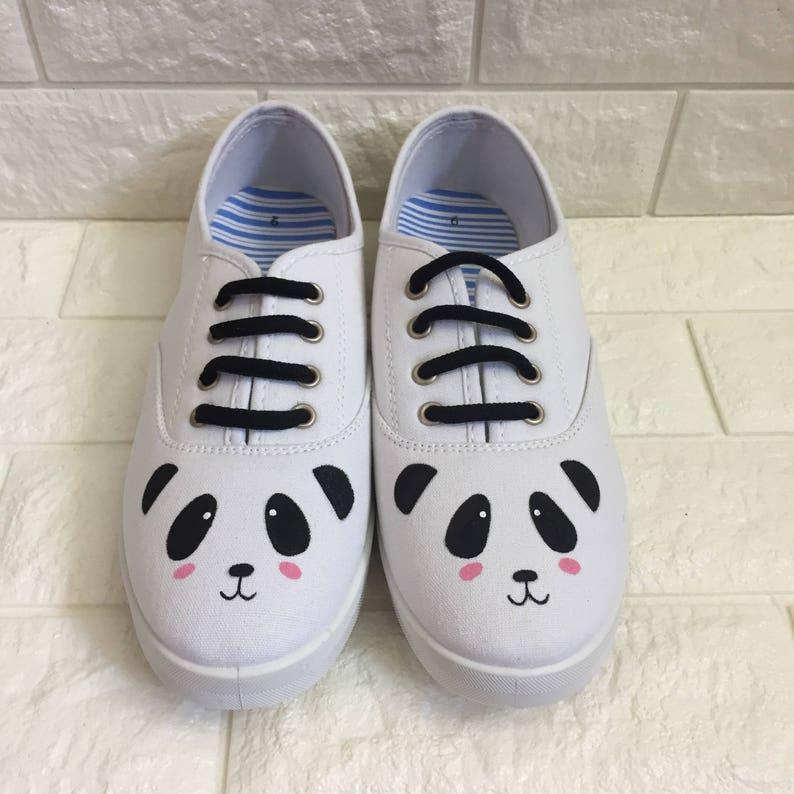 654848e3725f Baby Toddler   Kids Panda Shoes. Panda face shoes.